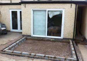 wigston extension - groundwork