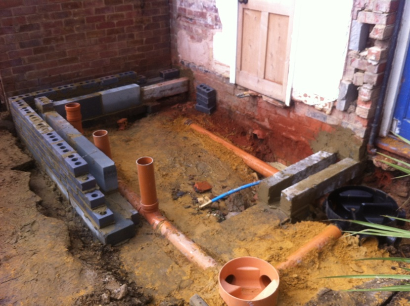 Leicester builders building services throughout for Bathroom builders leicester